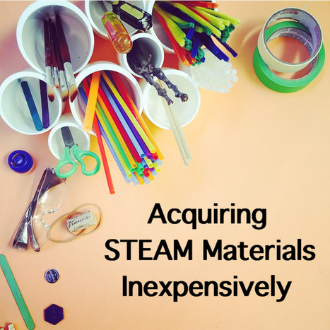 Tips For Acquiring Inexpensive STEAM Materials - Wee Warhols | Studying Teaching and Learning | Scoop.it