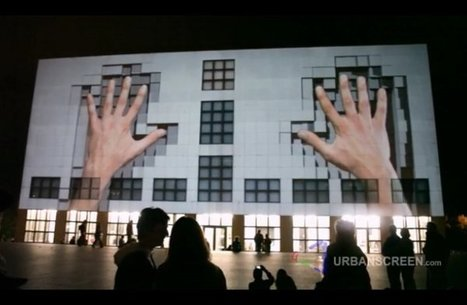 Urban Projection Mapping Videos: 10 Masterpieces | I wish I'd thought of that | Scoop.it
