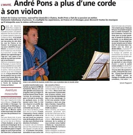 Ancien professeur de L'école de musique de Croissy | Croissy sur Seine | Scoop.it
