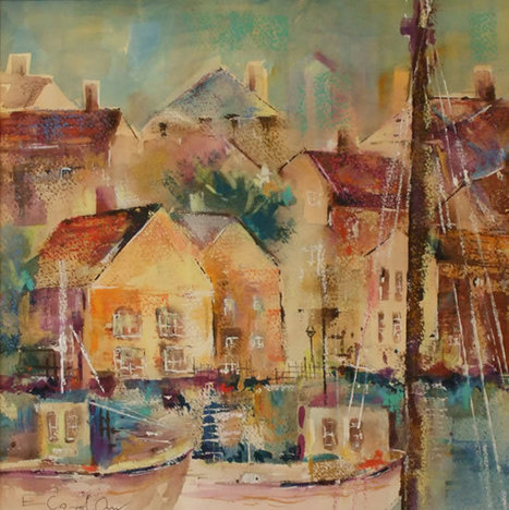 """Cornish Harbour"" Elisabeth Carolan 