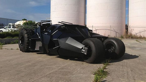 Batman Car From The Dark Knight Trilogy For Sale For $1 million | My Dream Garage | Scoop.it