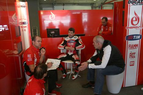 Team SBK Ducati Alstare | Saturday's images from Portimao | Ductalk Ducati News | Scoop.it