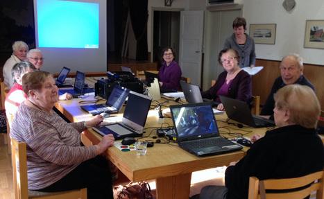 Vuxenskolan håller datakurser ute i bygdegårdarna - Studieförbundet vuxenskolan | Svenska seniorer | Scoop.it