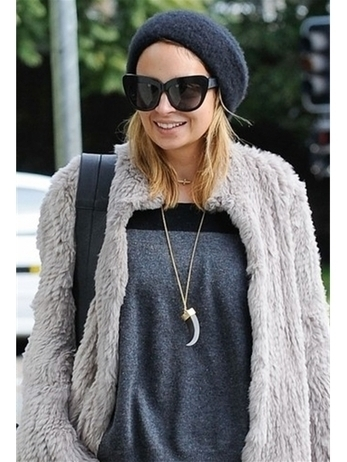 House of Harlow 1960 Tribal Horn Pendant Necklace as Seen On Nicole Richie | Product We Love | Scoop.it