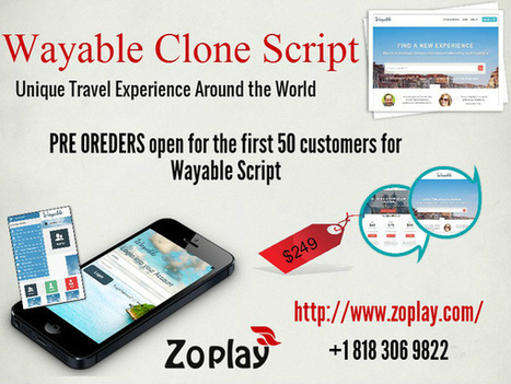 Unique Travel Experience Around the World – Vayable Clone Script | zoplay | Wanelo clone script | Scoop.it