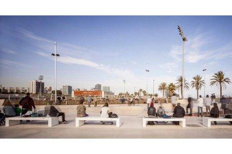 Fotos de los skateparks de Mar Bella y Les Corts | Estrategias de Competitividad 2.0: | Scoop.it