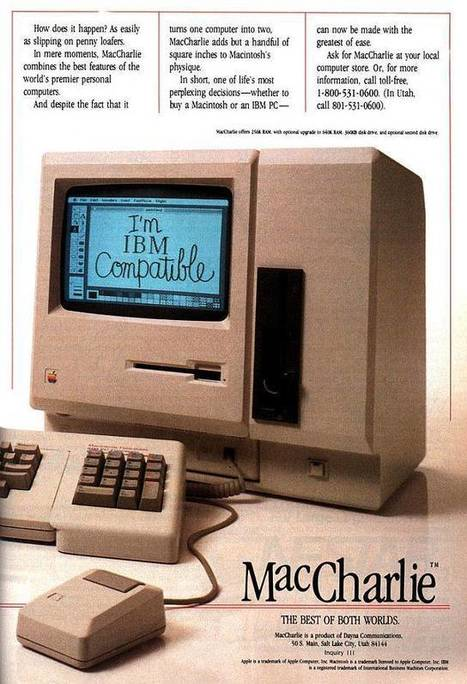 Neat Designs  –  How Apple's Marketing Revolution Began – 80 Vintage Ads | Everything from Social Media to F1 to Photography to Anything Interesting | Scoop.it