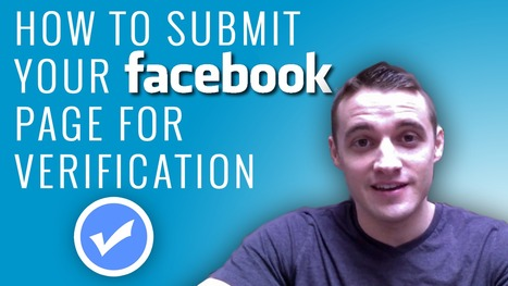 How to Submit your Facebook Fan Page for Verification | Facebook best practices and research | Scoop.it