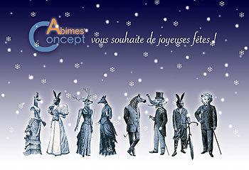 Abimes concept - Joyeux Noel 2015 ! | Création de site web et webdesign | Scoop.it