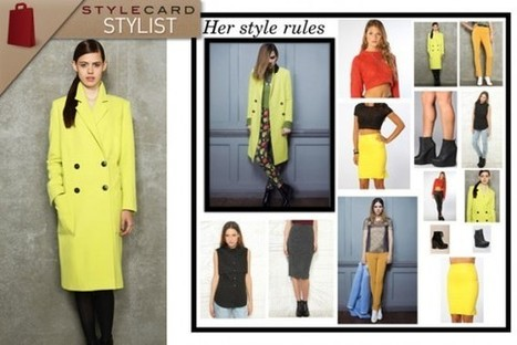 StyleCard Stylist: The Colour Pop – Yellow | StyleCard Fashion Portal | Fashion for all man kind | Scoop.it