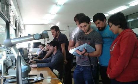 El ETI de Tudela tiene en sus aulas un robot colaborativo | Tudelano.com | Scoop.it