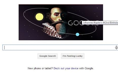 Johannes Kepler: German astronomer celebrated with Google Doodle on '442nd ... - Mirror.co.uk | TJMS World History | Scoop.it