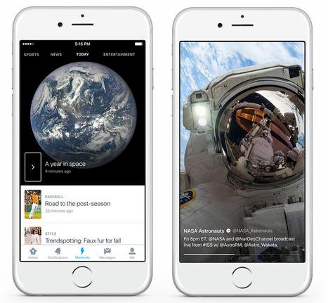 Twitter lance Moments pour afficher le meilleur de Twitter curaté | Geeks | Scoop.it