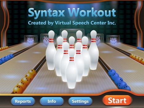 Syntax Workout App | Speech and Language Therapy Apps | Scoop.it