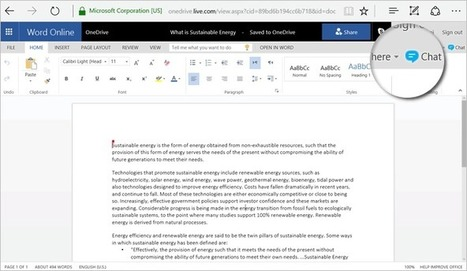 Collaboration in Office—chat with your co-editors in real time via Skype! - Office Blogs | Social Sharepoint | Scoop.it