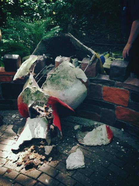 Real Humpty Dumpty Has a Great Fall Off Oregon Wall - NBC News | Kickin' Kickers | Scoop.it