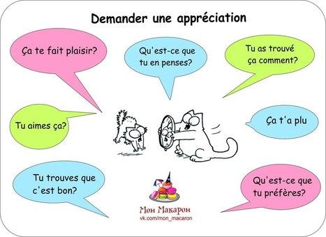 Demander une appréciation | FLE enfants | Scoop.it