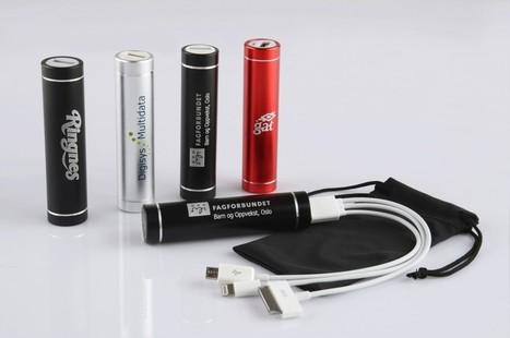 Power Bank rund - ECpromotion.com | T-skjorter, Isskraper, Logobånd, USB-minnebrikker, Drikkeflasker | Scoop.it