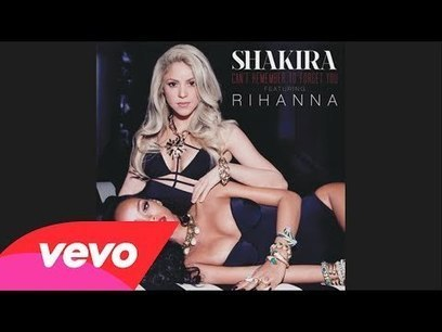Shakira - Can't Remember To Forget You Rihanna | Affiliate Marketing & Make Money Online | Scoop.it