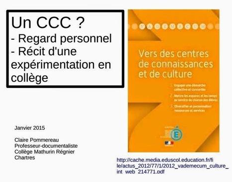 Clairement doc: Bilan du 3C | Séances | Scoop.it