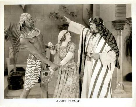 A Café in Cairo (1924), directed by Chester Withey. The plot is centered on An Arab Thief/Bandit that kills an Englishmen and Englishmen's wife to only save their daughter, to be wed later by the A... | Western film and the negative portrayals of the East | Scoop.it