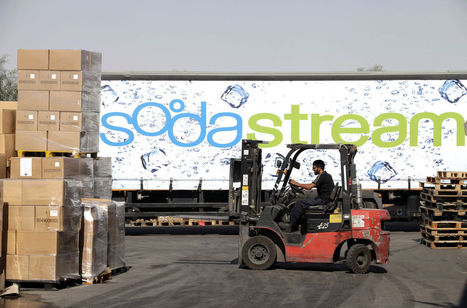 SodaStream Drops Amid Sanctions Over Jewish Settlements | Making a difference | Scoop.it