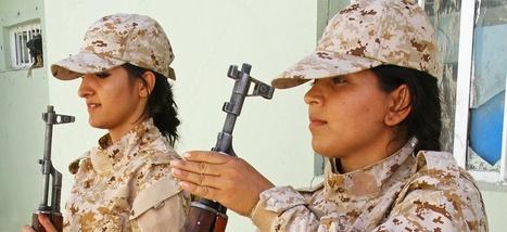 Les femmes peshmergas, héroïnes trompeuses de la société kurde | A Voice of Our Own | Scoop.it