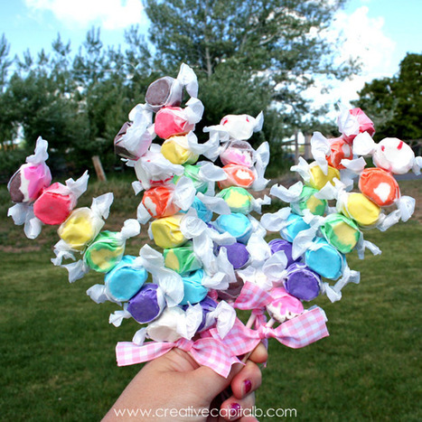 Capital B: Adorable Taffy Kabob Party Favors | Candy Buffet Weddings, Events, Food Station Buffets and Tea Parties | Scoop.it