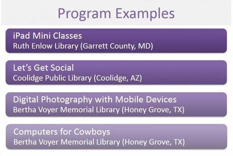 Go Mobile with Your Library's Adult Programming | TechSoup for ... | The Library Scoop | Scoop.it