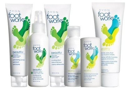 Foot-Works-Beautiful-Healthy-6-Piece-Foot-Care-Collection.png (487x340 pixels) | AVON Products | Scoop.it