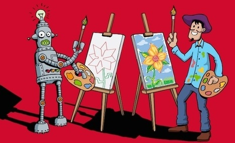 Plus votre métier est créatif, moins les robots risquent de vous le piquer - Mode(s) d'emploi   conseils emploi   Scoop.it