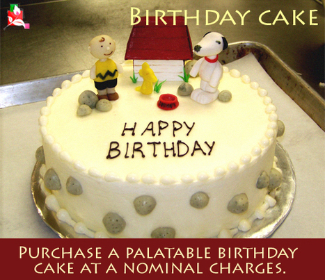 Birthday Cake - Purchase a palatable birthday cake at a nominal charges   BlossomSquare   Scoop.it