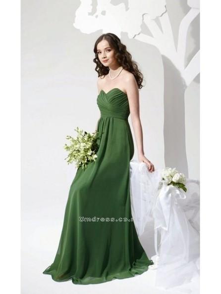 A line Sweetheart Chiffon Long Bridesmaid DressesSKU: BM000099 - Cmdress.co.nz | Press Release from dressmebridal.co.uk | Scoop.it