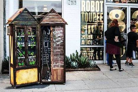 Top 10 des little free libraries les plus originales | bibliothécaires et bibiothèques | Scoop.it