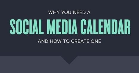 Why You Need a Social Media Calendar   SEJ   Réseaux sociaux   Scoop.it