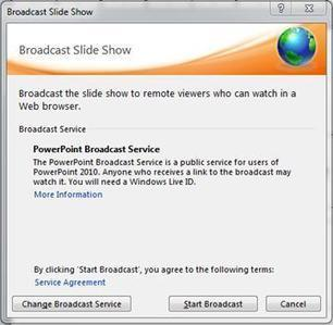 Broadcast your PowerPoint presentation to a remote audience | HigherEd Technology 2013 | Scoop.it