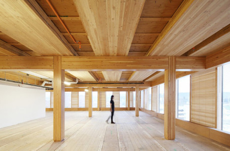Wood Innovation Design Center rises as world's largest timber office building   Design, green design, art brut, architecture bois...   Scoop.it