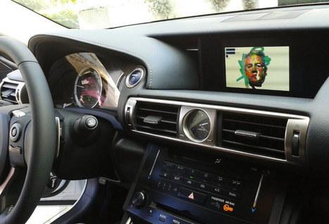 LEXUS + sergio albiac: art is motion draws you while driving - designboom | architecture & design magazine | Luminous Art | Scoop.it