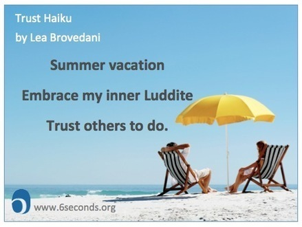 The Trust Vacation - Six Seconds | All About Coaching | Scoop.it