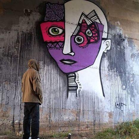 #loaf #athens #charachter #charachters #eye #yo #street #streetart #graffiti #man #writer #graffitiw - street.art.thessaloniki.greece | Communication design | Scoop.it