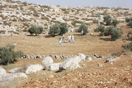 Masked settlers traumatize child, throw rocks at internationals in South Hebron Hills | Occupied Palestine | Scoop.it
