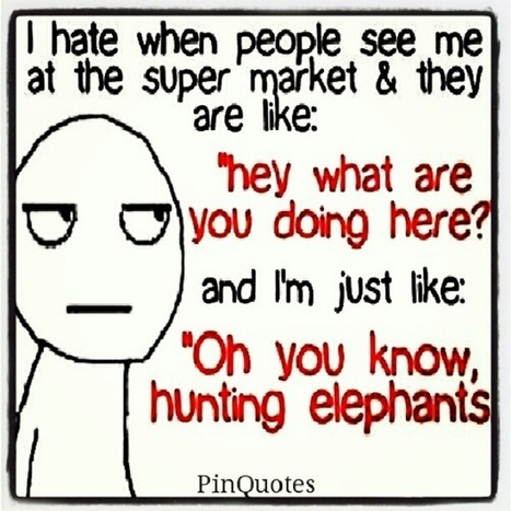 Hunting Elephants | Forty Two: Life and Other Important Things | Scoop.it