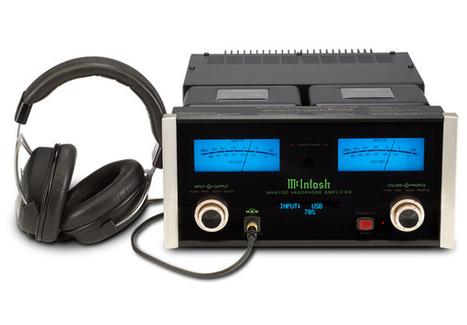 McIntosh MHA-100 : à l'assaut des amplis casque haut de gamme   omnidirectionnal speaker   Scoop.it