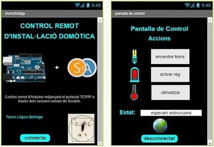 Control remot de S4A amb App Inventor   Robòtica educativa   Scoop.it