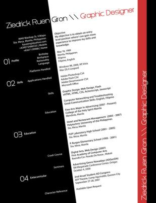 35 ejemplos de cómo hacer un CV creativo | LookingFor a JOB | Scoop.it