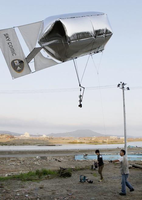 [Eng] Un ballon utilisé pour photographier les zones dévastées | The Japan Times Online | Japon : séisme, tsunami & conséquences | Scoop.it