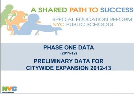 NYC Prepares for CCSS in Special Education | Specialized Instruction | Scoop.it