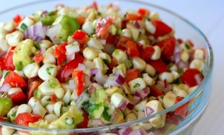 Raw Corn and Avocado Salad | Food issues | Scoop.it