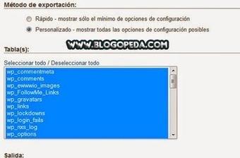 Copia de seguridad de una base de datos en phpMy Admin | LOPD y Seguridad en la Red | Scoop.it