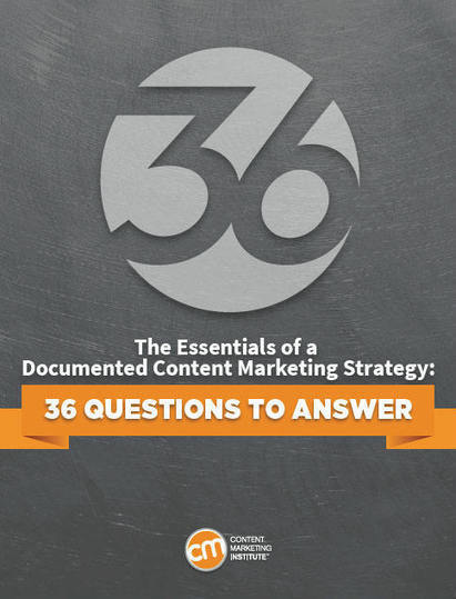 How to Create a Documented Content Marketing Strategy: 36 ... | Study Marketing | Scoop.it